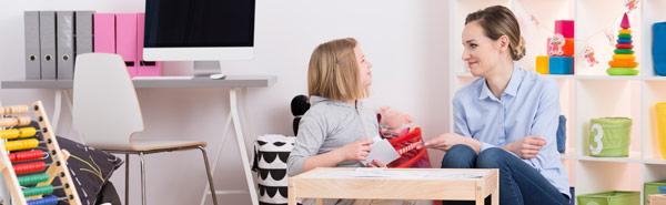 Terapia dziecięca w gabinecie psychoterapeutycznym
