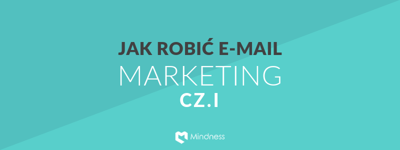 Baner z tekstem Jak robić e-mail marketing