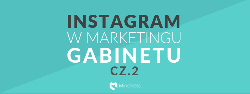 "Baner ""Instagram w marketingu gabinetu"""