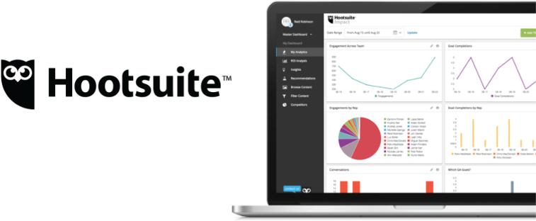 Hootsuite - narzędzie do planowania publikacji w mediach społecznościowych