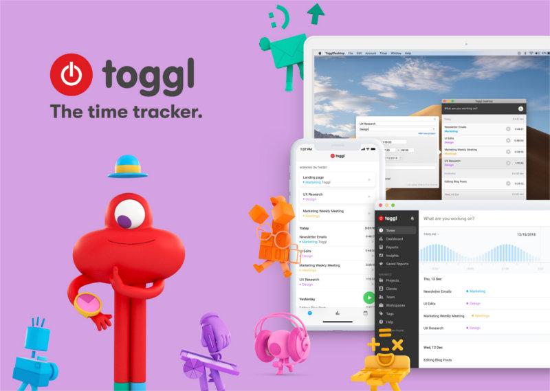 Toggl - narzędzie ułatwiające organizację pracy - do liczenia czasu pracy