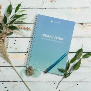 Terapeutnik - dedykowany kalendarz dla psychologa i psychoterapeuty z miejscem na notatki
