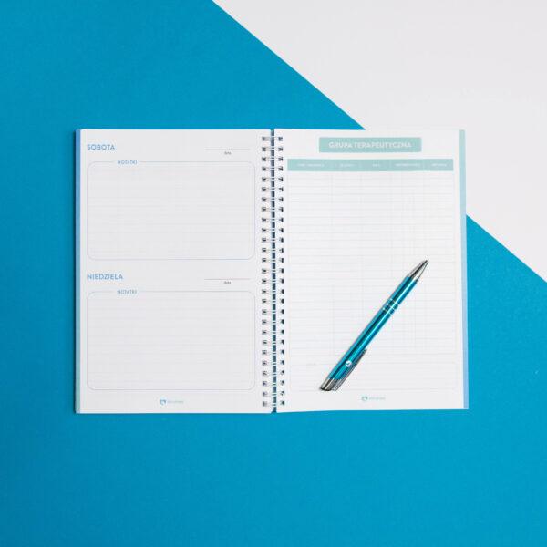 Terapetnik - kalendarz dla psychologa otwarty na stronie dedykowanej grupie terapeutycznej